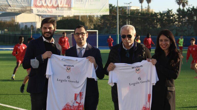 Molfetta Calcio sottoscrive la partnership ufficiale con Legale Genchi